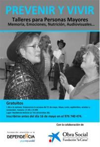 Cartel del Proyecto Prevenir y Vivir