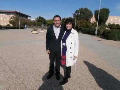 Con el director del Congreso Adolfo Cangas