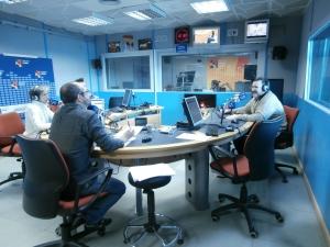 """Un momento de la entrevista del programa """"Despierta Aragón"""""""