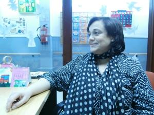 Dori desarrolla su trabajo de psicóloga  en el área Laboral de Fundación