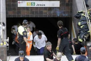Los servicios de rescate actuaron con toda celeridad