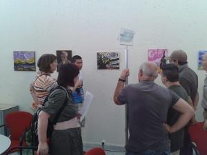Los trabajos de final de curso con la temática de Van Gogh como inspiración