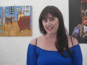 Nieves Marquina es profesora del taller de Dibujo y Esencia en el Club Social