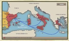 Mapa del Antiguo Reino de Aragón