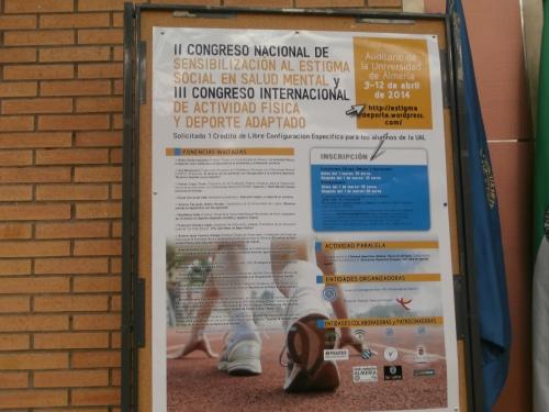 El cartel del Congreso este año