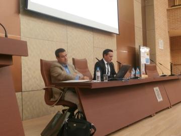 Álvaro Sicilia Camacho en su intervención en el Congreso