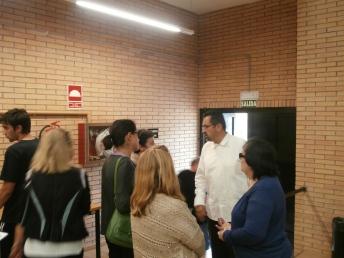 La cercanía de Luis García se hizo patente después de su intervención