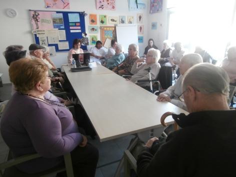 Reunión del taller de la Memoria Compartida