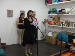 """Marigel Pinilla presentando el libro """" Mis Cosas, Mis Historias"""""""