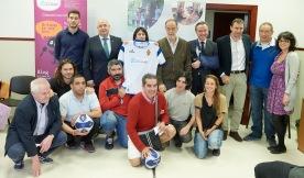 los participantes del evento en la Sede del CRAP .Foto Tino Gil R. Zaragoza