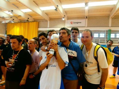 El equipo subcampeón de Grupo Rey Ardid