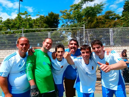 Nuestro equipo de fútbol sala
