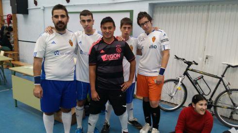 Foto de los componentes de nuestro equipo de Fútbol Sala