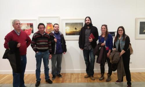 En la exposición del Museo Pablo Serrano