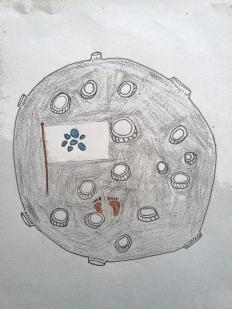 Una de las propuestas dibujadas